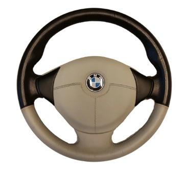 BMW E38/E39 РУЛЬ КОЖА M пакет AIRBAG серый