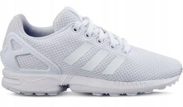 Buty Damskie Adidas ZX Flux W •cena 264,00 zł•Białe, Czarne