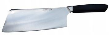 Нож кухонный для нарезки мясных овощей.