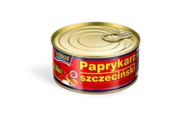 Щецинский паприкарц 310г Усткинский лосось