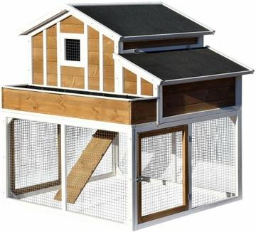 Деревянная клетка для кур и кроликов, дом XXL, курятник