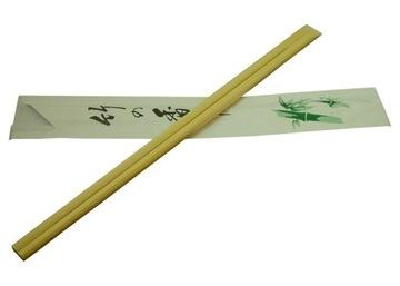 Палочки БАМБУК в конвертах для суши 10 пар, 21 см