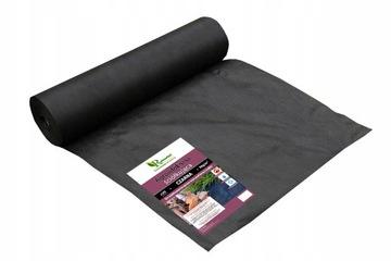 Нетканое полотно для сорняков BLACK AGROLOCNINE, 1.1x50м