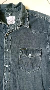 koszula męska jeansowa Wrangler_XL/XXL_