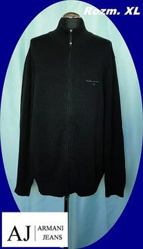 ARMANI JEANS - sweter męski