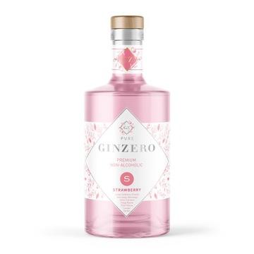 GINZERO STRAWBERRY (клубника) - джин безалкогольный