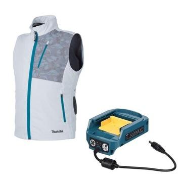 MAKITA Vest Вентилируемый аккумулятор r. L + адаптер