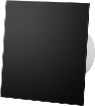 Стекло канального вентилятора матовое чёрное FI100cm