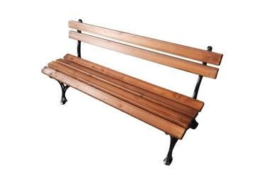 Садовая скамейка на алюминиевых ножках ПРОИЗВОДИТЕЛЬ