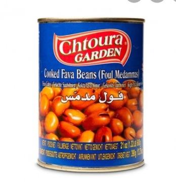 Вареные бобы Foul, Fava Chtoura Garden 400g Ливийские