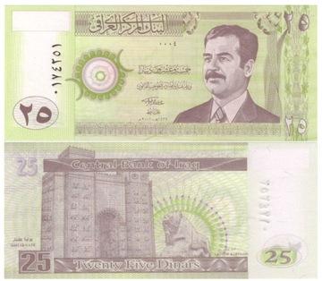 ИРАК 25 динаров 2001 P86 (1) UNC