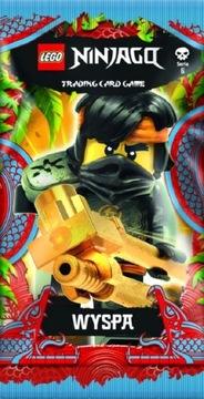 Lego Ninjago series 6 ISLAND 25 пакетиков 125 карт