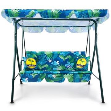 Garden Swing Кресло-качалка 3-х местная скамейка + подушки