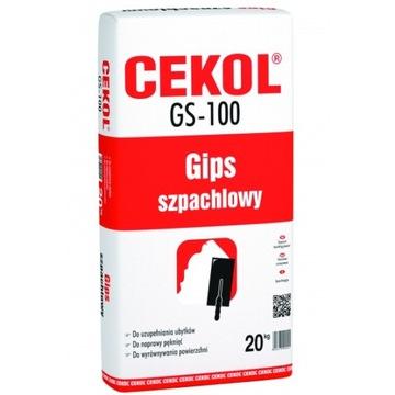 Гипсокартон Cekol GS-100 20 кг