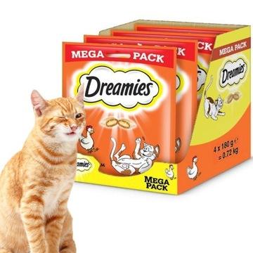 МЕЧТЫ с курицей для кошки MEGA PACK 4 x180г