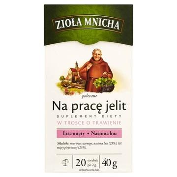 Big-Active Zioła Mnicha Для работы кишечника 40г