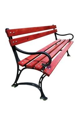 Распродажа Садовая скамейка с опорой 150 см.