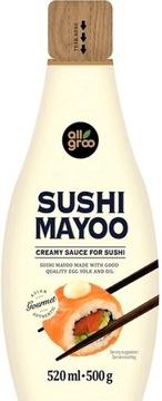 Сливочный соус для суши Майонез Майонез 520 мл ALL GROO
