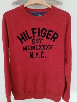 Tommy Hilfiger sweter bluza logo oryginał M