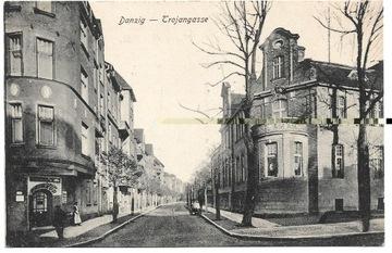 P023 - Данциг - Троянгассе - улица Серединского