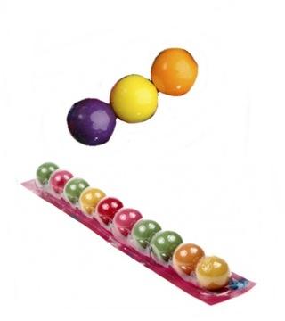 Резиновый мяч 10 шт. Ремешок с резиновыми шариками Баллон 32,5 г