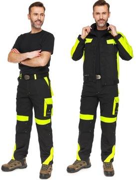 CLASSIC-VIS черный костюмный свитшот + брюки на талии 60