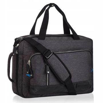 Torba na laptopa 15,6 Betlewski duża męska plecak