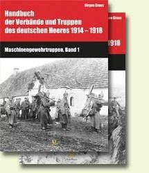 Handbuch 1914-1918: Maschinengewehrtruppen 1,2