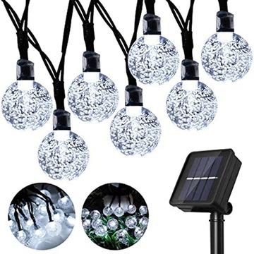 50Led 9.5M солнечные садовые фонари декоративные