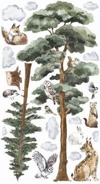 Наклейки BACKWOODS II для детей Forest Trees