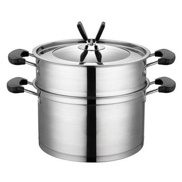 Утолщение стальной посуды высшего качества на пару