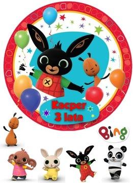 Торт Кролик Бинг + набор из 5 символов