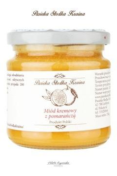 Крем-мед с апельсином Пасека Слодка Краина