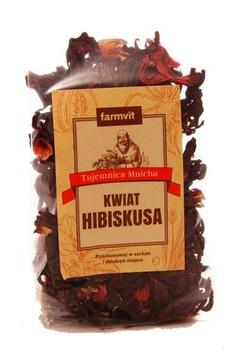 Цветок гибискуса - добавка к чаю и отдельно