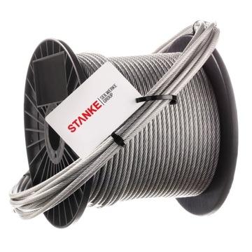 Канат из нержавеющей стали PVC 7х7, 1 п. 2мм
