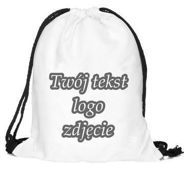 Plecak Z Wlasnym Nadrukiem Plecaki Allegro Pl