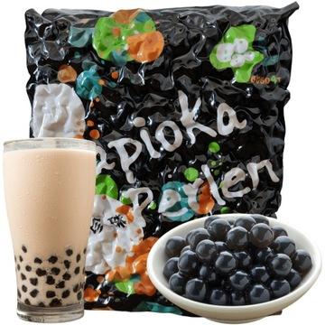 ЧЕРНАЯ тапиока для пузырькового чая TAIWAN PEARLS 3KG