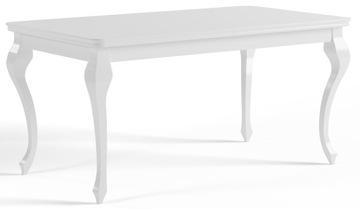 Стол 170/250 LUDWIK GLAMOUR WHITE GLOSS ГОСТИНАЯ