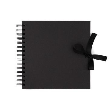 Альбом для скрапбукинга 20,5x20,5см Черный 40 листов