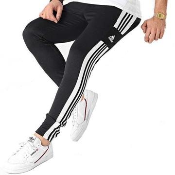 Spodnie dresowe Adidas męskie treningowe dresy-S