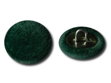 Пуговицы обиты обивочной монолитной тканью инари.