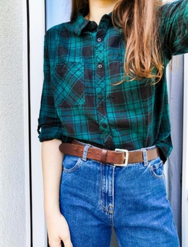 Koszula w kratę w stylu drwala Primark