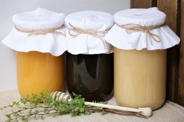 Набор медов 3х1,2 кг гречка, рапс, многоцветок