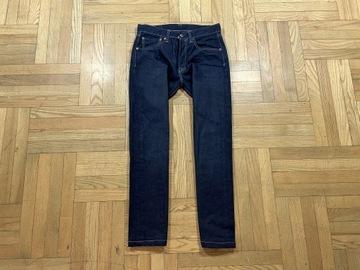 LEVIS 501 Spodnie Męskie Jeans IDEAŁ W31 L30 pas78