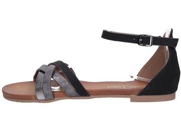 Sandaly Z Pieta Niska Cena Na Allegro Pl