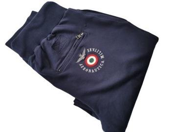 AERONAUTICA MILITARE spodnie dresowe rozm.L pilot