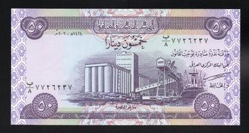 Ирак 50 динаров P-90 UNC 2003