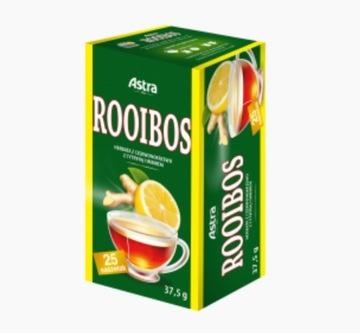 Красный чай Ройбуш лимонно-имбирный 25х1,5г