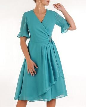 Sukienka Wizytowa 44 Niska Cena Na Allegro Pl