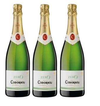 Игристое вино Spanish Codorniu 0% набор из 3 вин